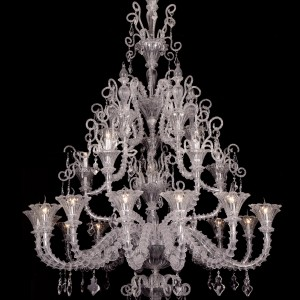 Venetian Blown Glass Chandelier