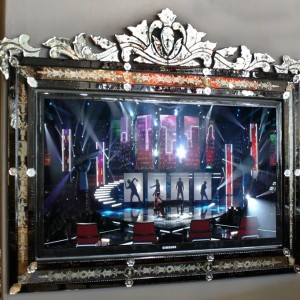 Venetian Mirror TV Frame